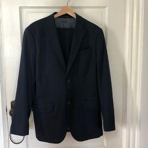 Dark Navy Blue PERRY ELLIS Suit